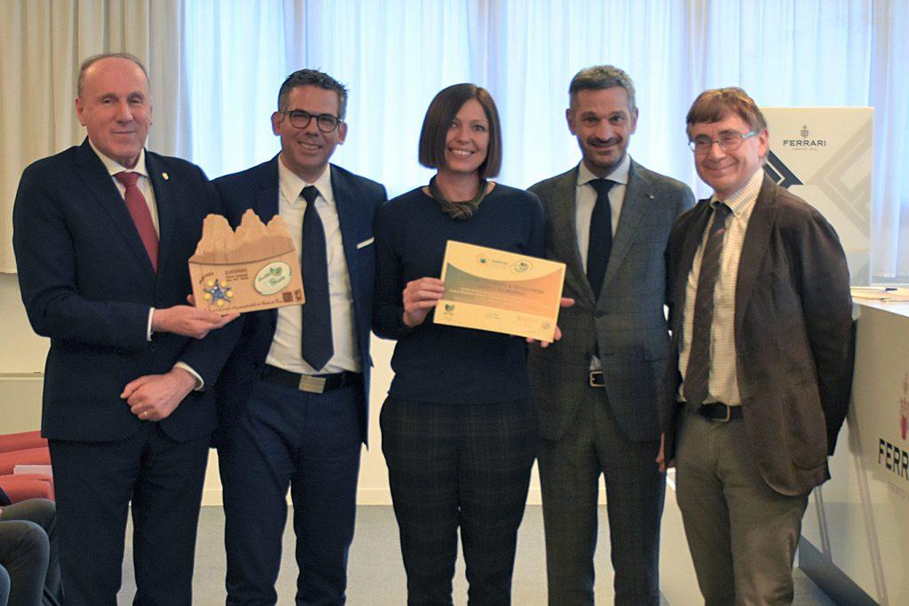 Premiazione Hotel Europeo CETS