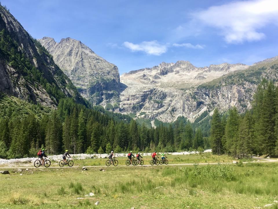 Radfahren in Val Rendena