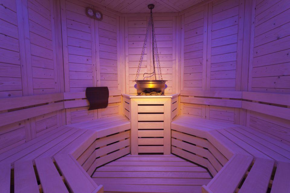 Sauna mit Chromoterapie Pinzolo