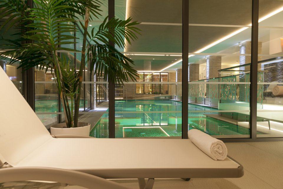 Zona relax piscina Hotel Europeo