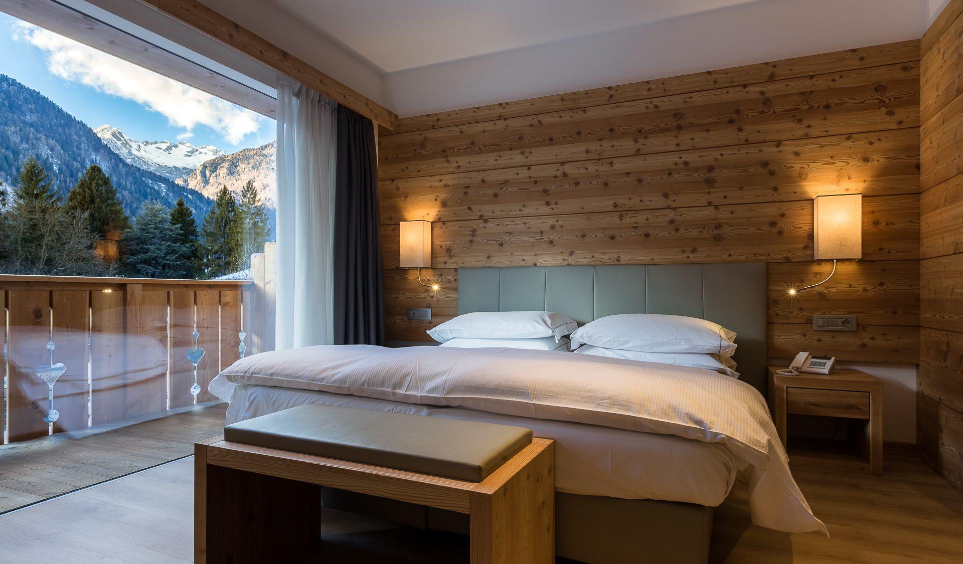 Suite panoramica con vista sulle Dolomiti