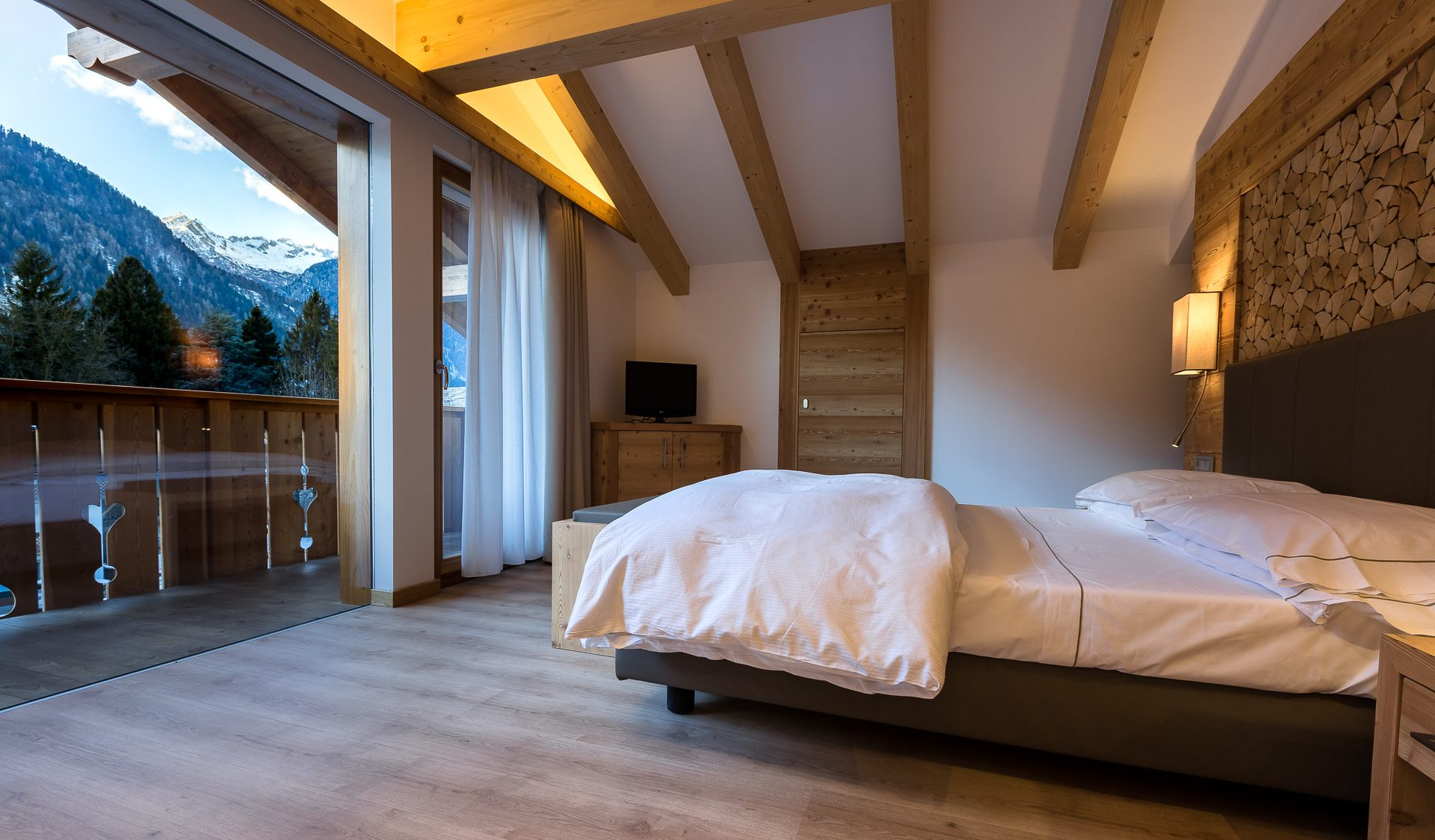 Suite panoramica Hotel Europeo Pinzolo